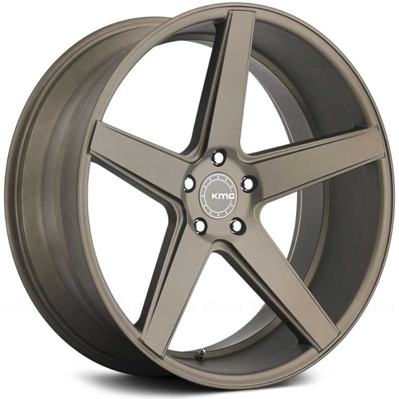 KMC KM685 District  Wheels Matte Bronze