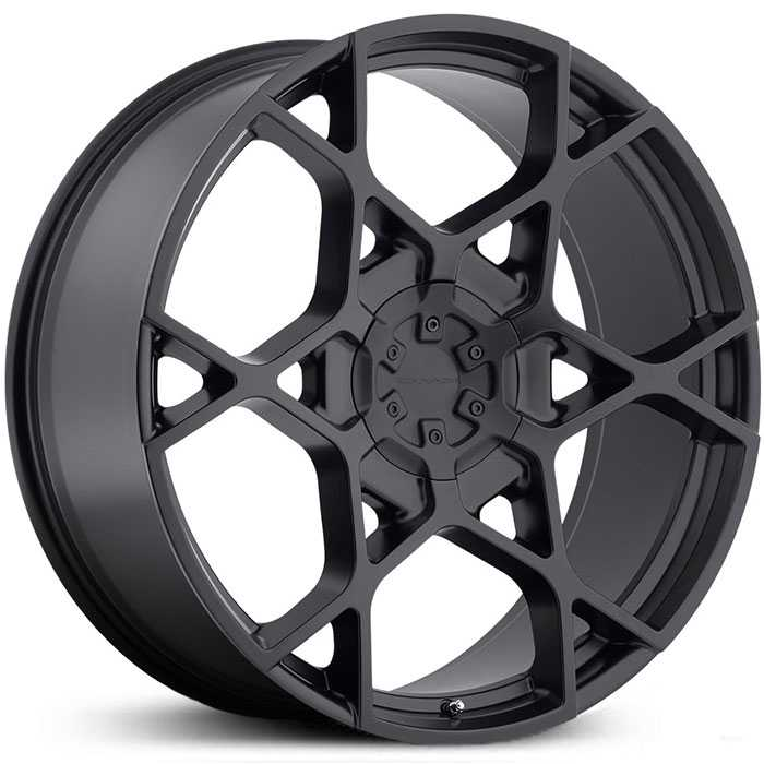 KMC KM695 Crosshair  Wheels Satin Black