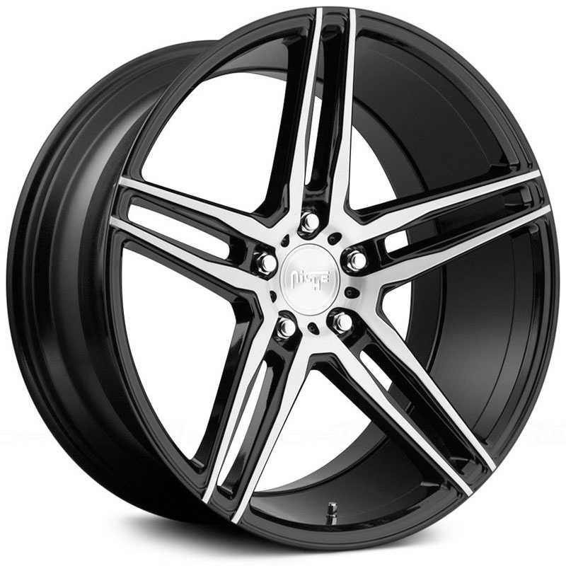 Niche M169 Turin  Wheels Black Machined