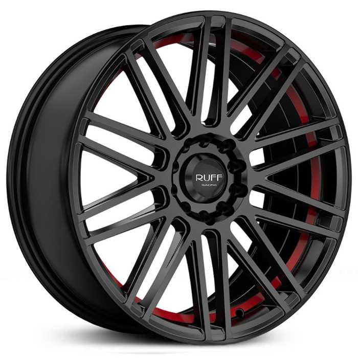 Ruff Racing R367 Black w/ Red