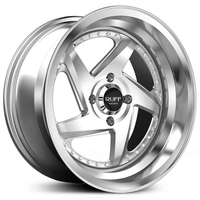 Ruff Racing R368 Silver/Grey/Gunmetal