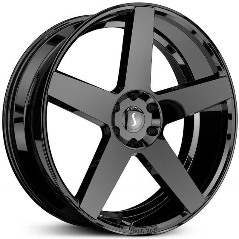 24x9.5 Status Alloy S839 Empire Gloss Black MID