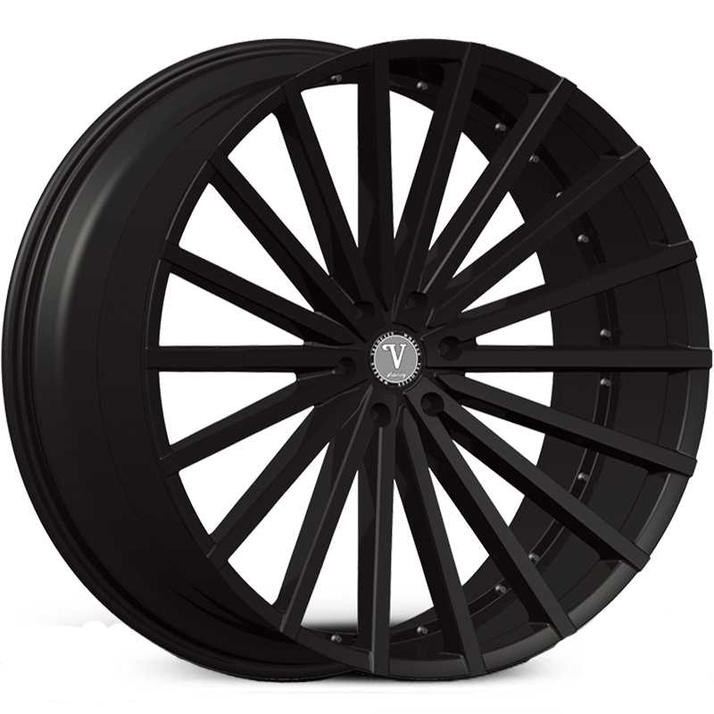 Velocity VW-17B  Wheels Matte Black