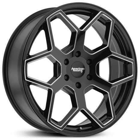 American Racing AR916 Gloss Black Milled