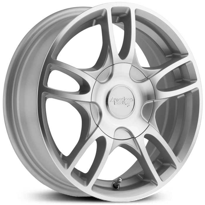 American Racing AR919  Wheels Silver Machined