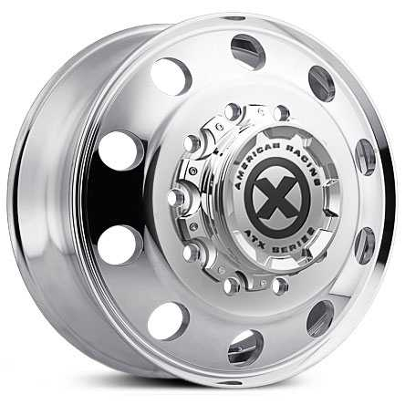 ATX Semi OTR AO400 Baja - Semi 18 Wheeler  Wheels Polished - Front