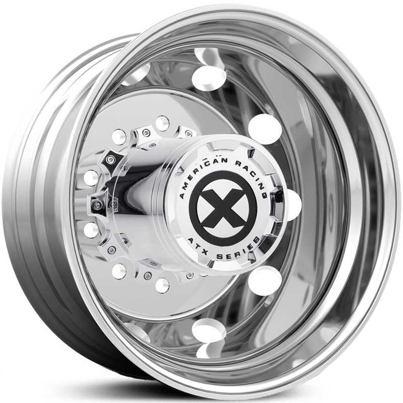 ATX Semi OTR AO400 Baja - Semi 18 Wheeler  Wheels Polished - Inner Rear