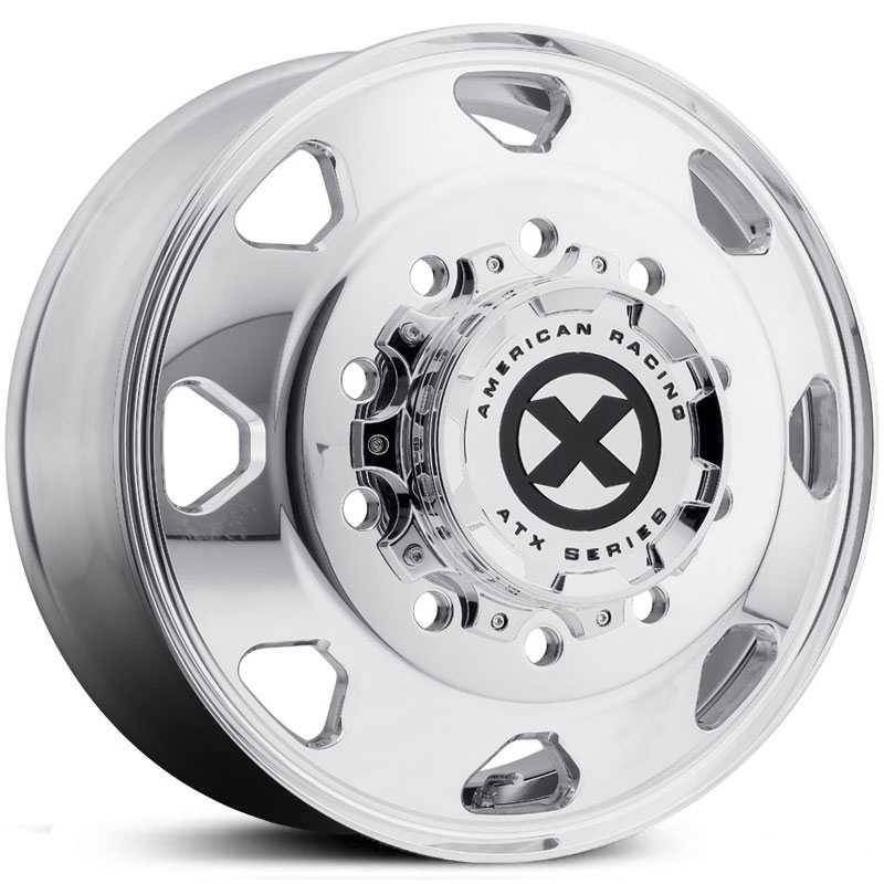 ATX Semi OTR AO401 Octane - Semi 18 Wheeler  Wheels Polished - Front