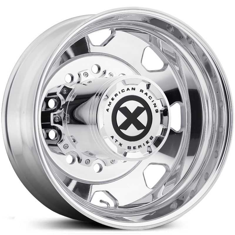 ATX Semi OTR AO401 Octane - Semi 18 Wheeler  Wheels Polished - Inner Rear