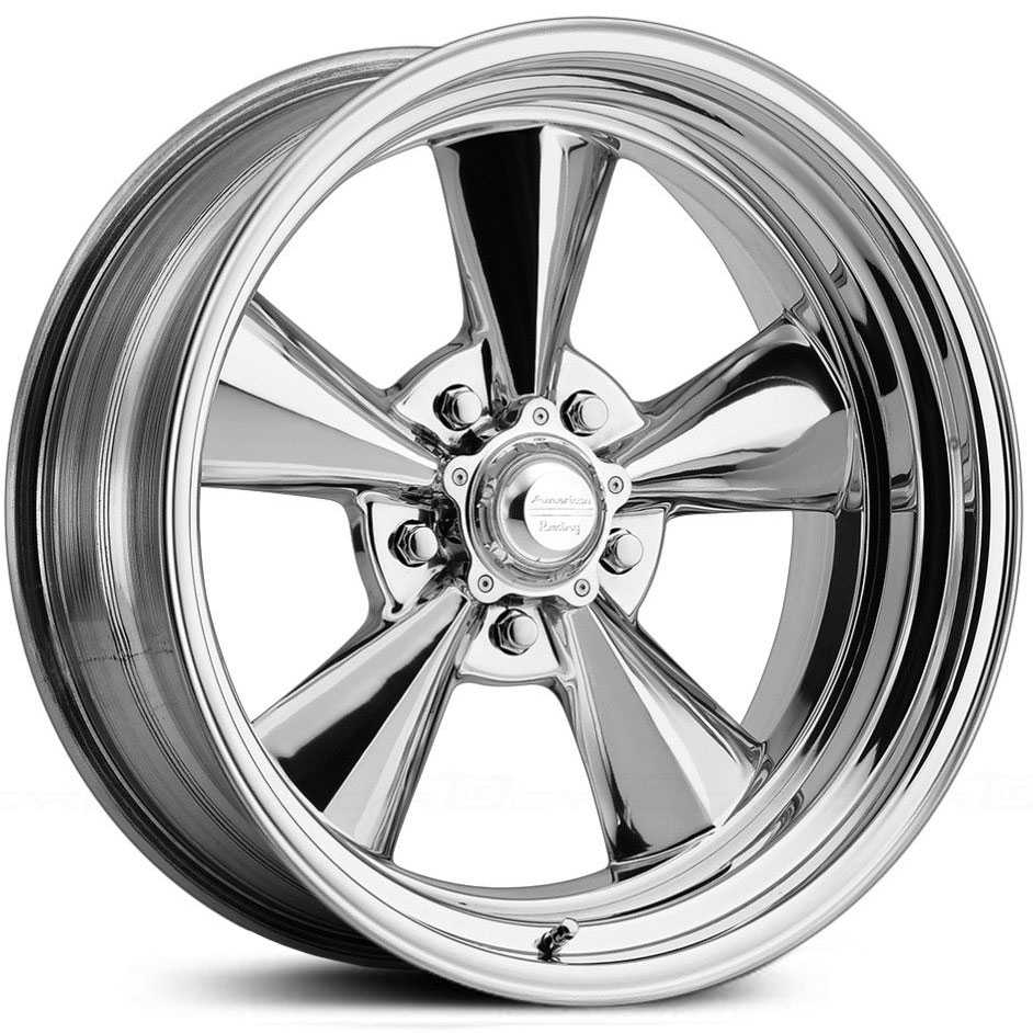 American Racing Vintage VN409 TTO 2 Piece  Wheels Polished