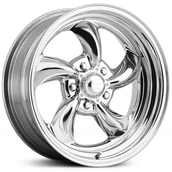 American Racing Vintage VN475 TT Directional - 2 Piece  Wheels Polished