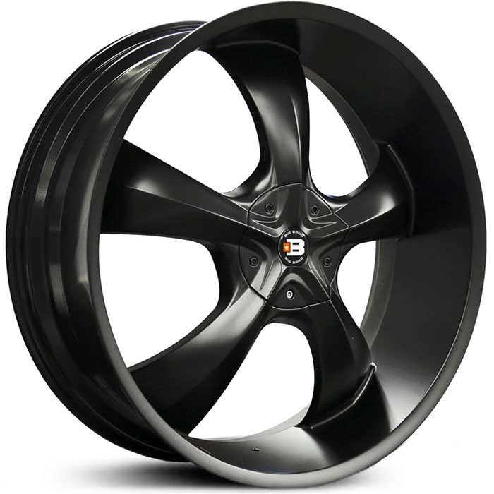 Big Bang BB25  Wheels Satin Black