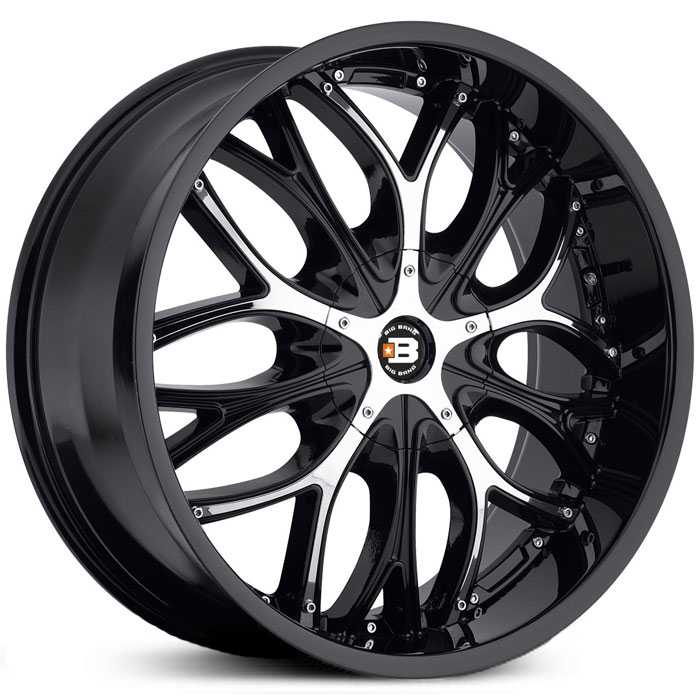 Big Bang BB4  Wheels Black