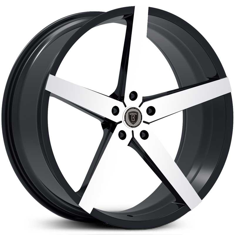 Borghini BW-35A  Wheels Black Machined