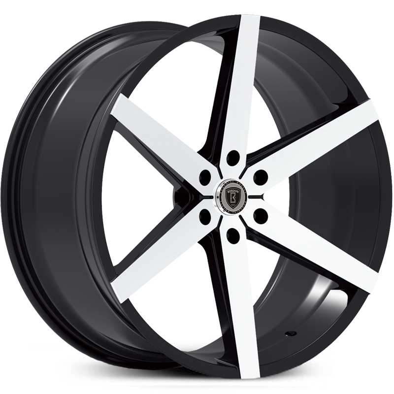 Borghini BW-35B  Wheels Black Machined