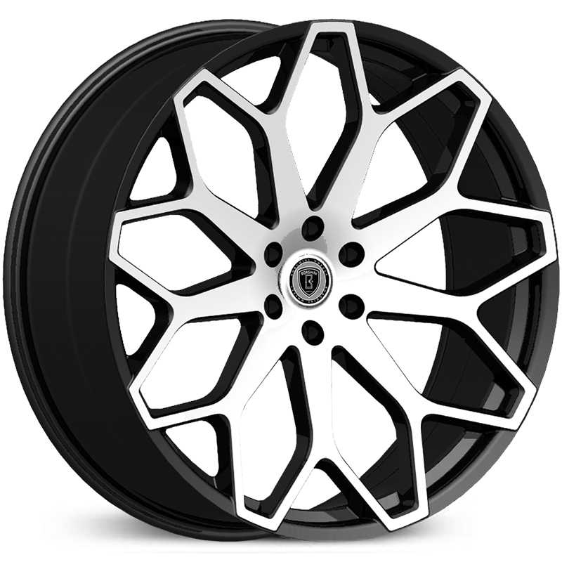 Borghini BW-28  Wheels Black Machined