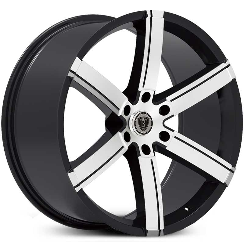 Borghini BW-39B  Wheels Black Machined