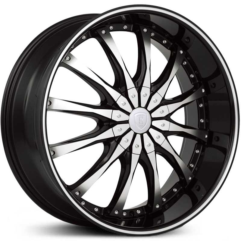 Borghini BW-8  Wheels Black Machined
