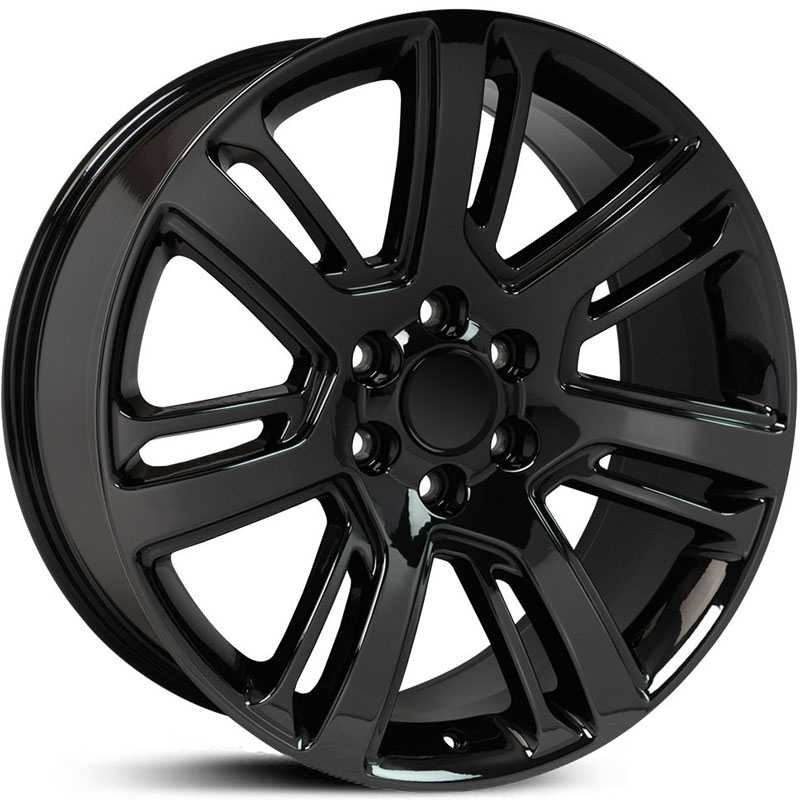Cadillac Escalade Style (CA88)  Wheels PVD Black Chrome