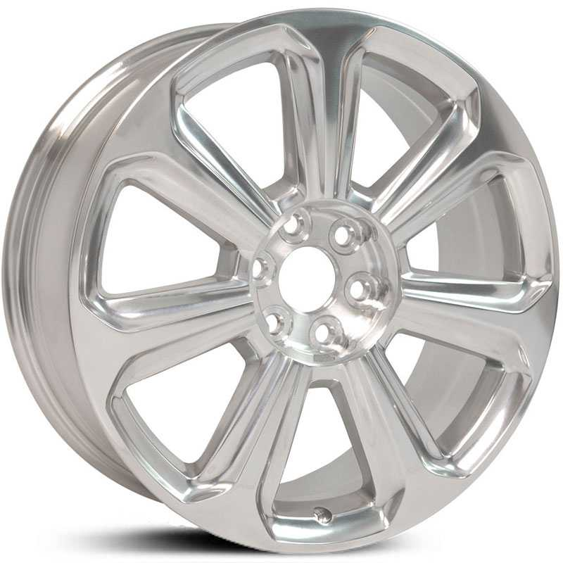 Cadillac SRX Style (CA17)  Wheels Polished