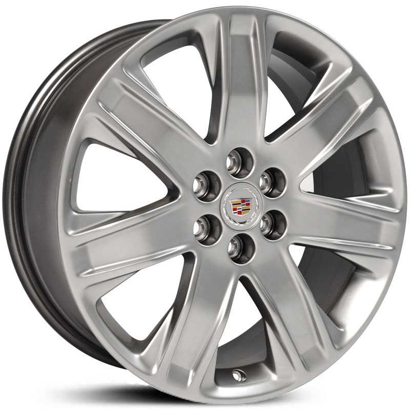Cadillac SRX Style (CA18)  Wheels Polished