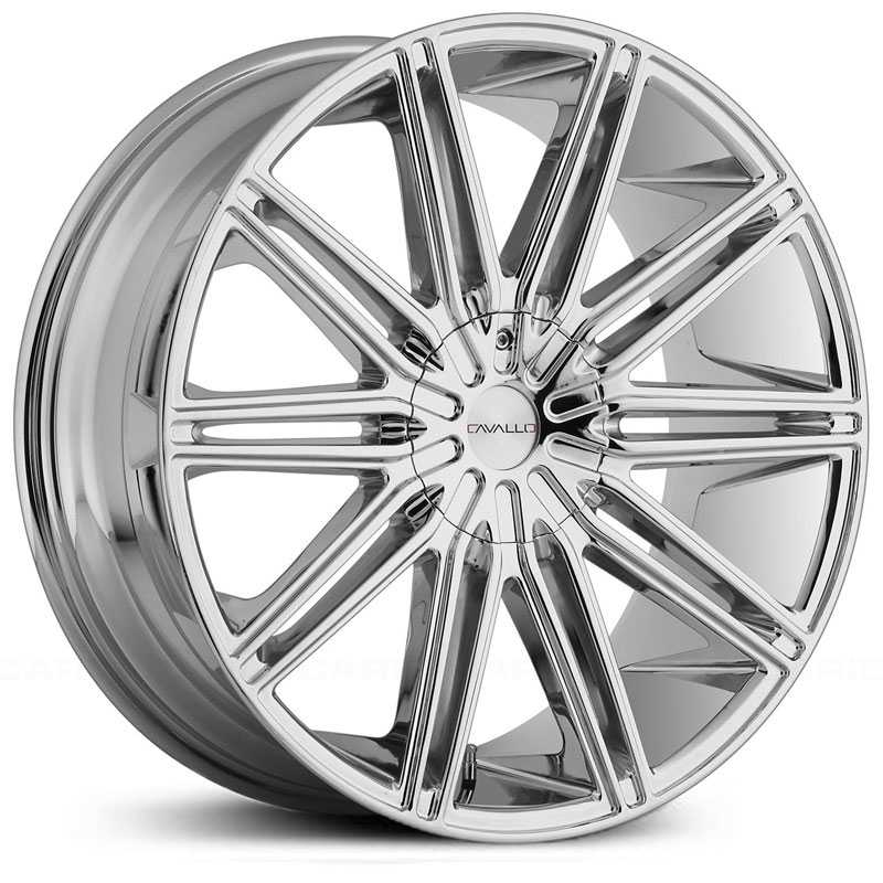 Cavallo CLV-10  Wheels Chrome