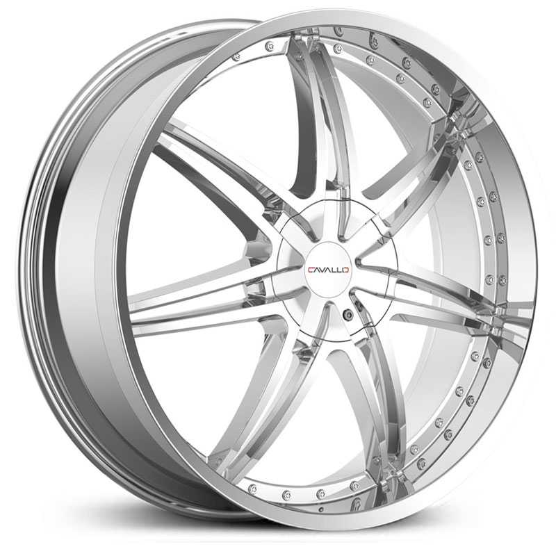 Cavallo CLV-11  Wheels Chrome