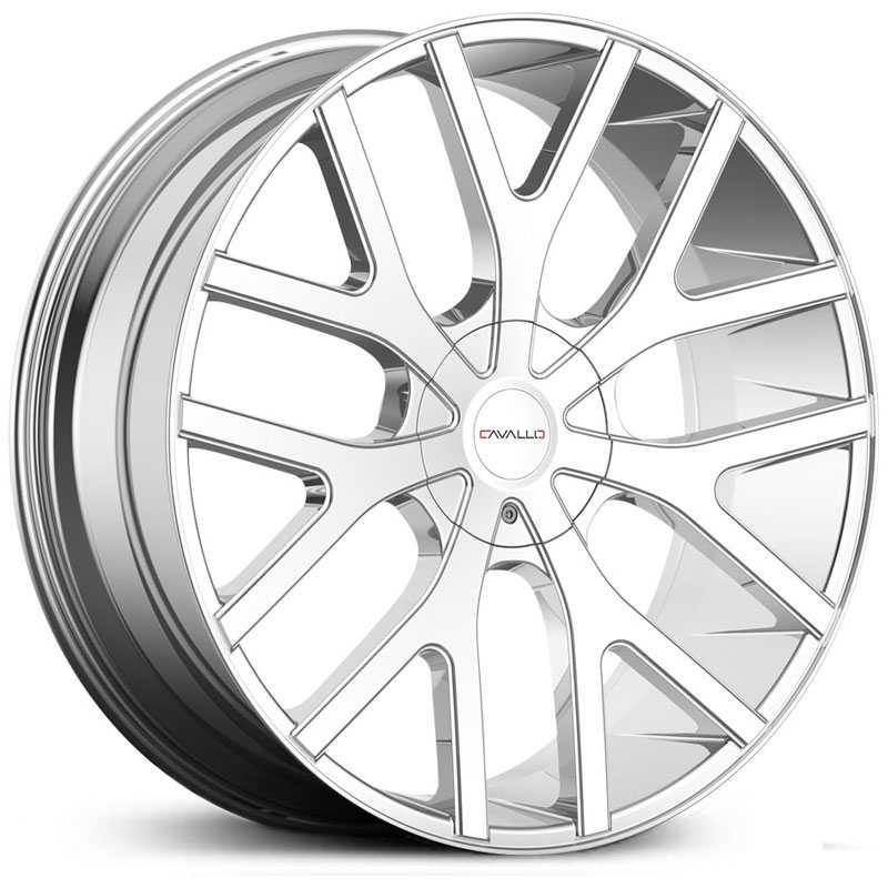 Cavallo CLV-15  Wheels Chrome