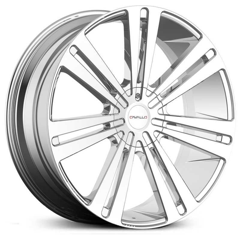 Cavallo CLV-16  Wheels Chrome