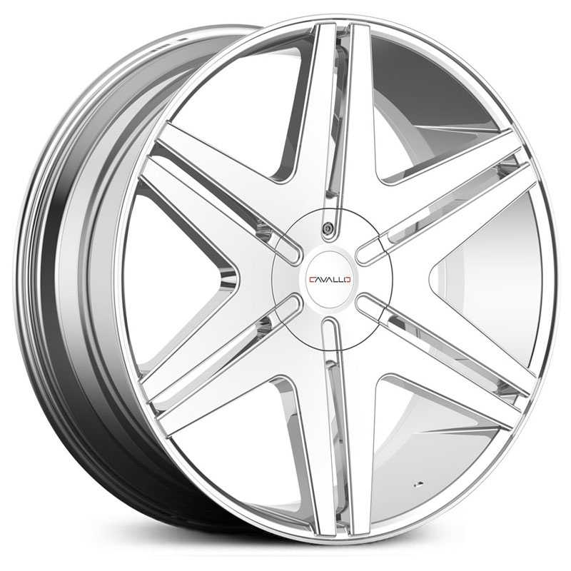 Cavallo CLV-17  Wheels Chrome