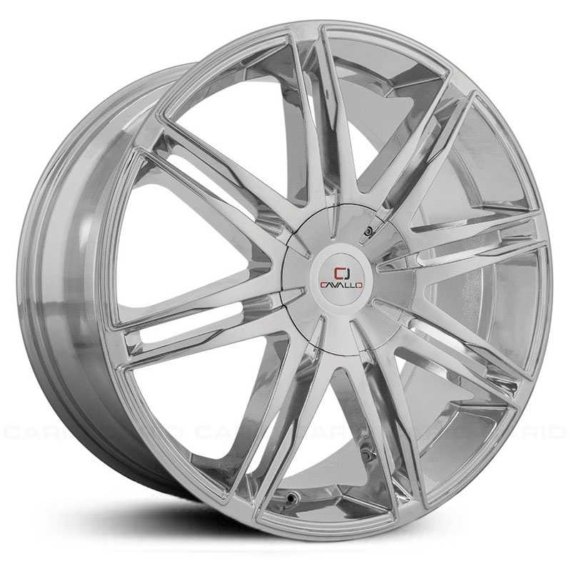22x8.5 Cavallo CLV-18 Chrome HPO