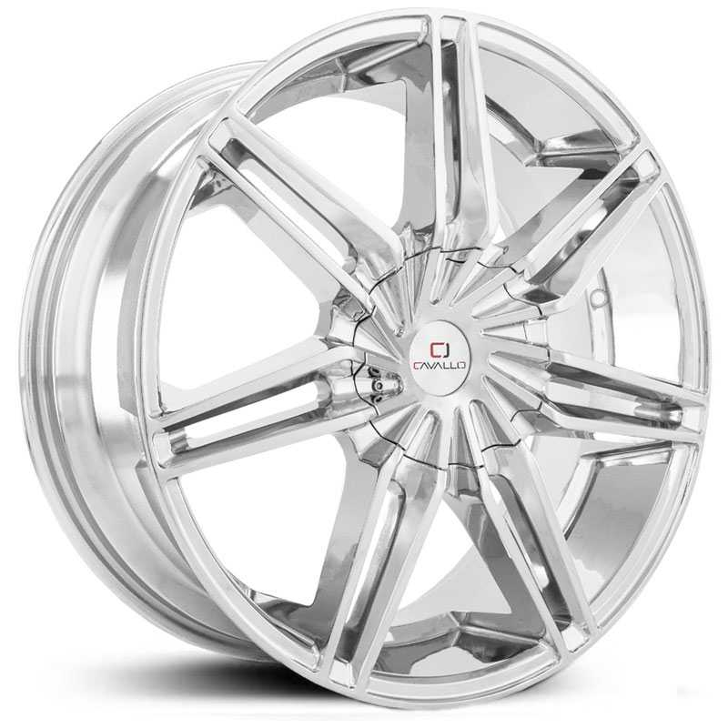 Cavallo CLV-19  Wheels Chrome