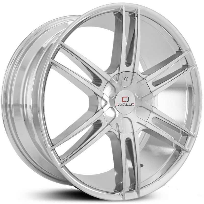 Cavallo CLV-20  Wheels Chrome
