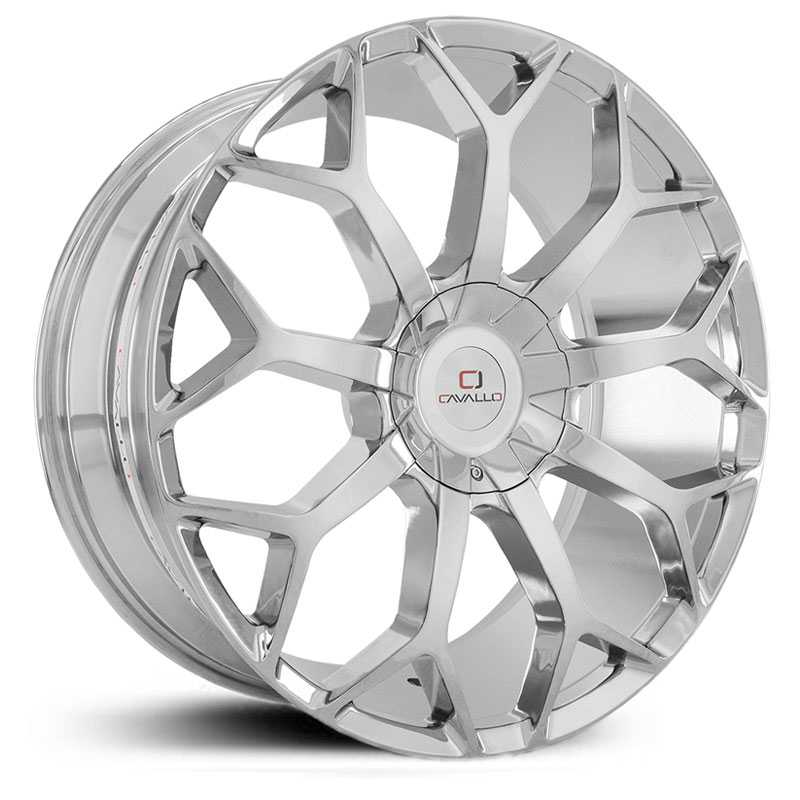 Cavallo CLV-22  Wheels Chrome