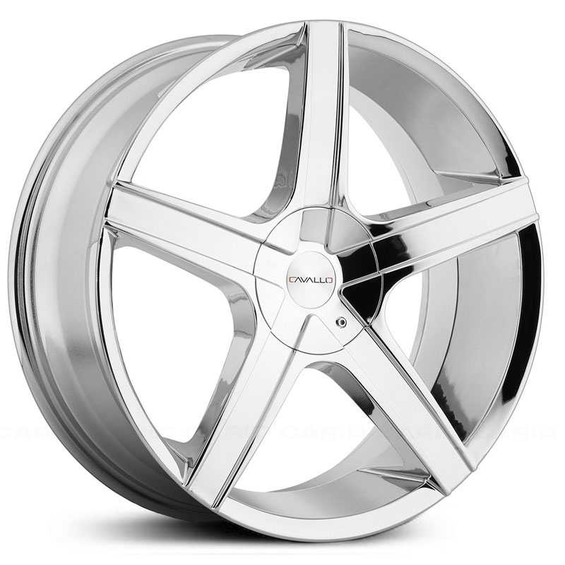 Cavallo CLV-3  Wheels Chrome
