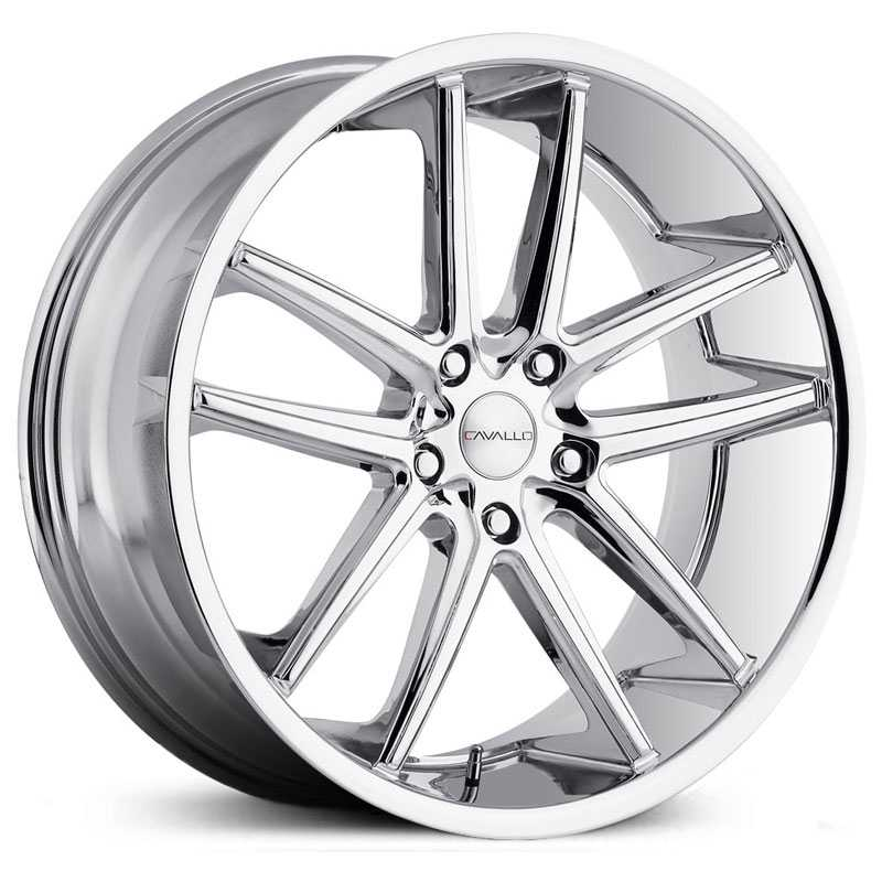 Cavallo CLV-4  Wheels Chrome