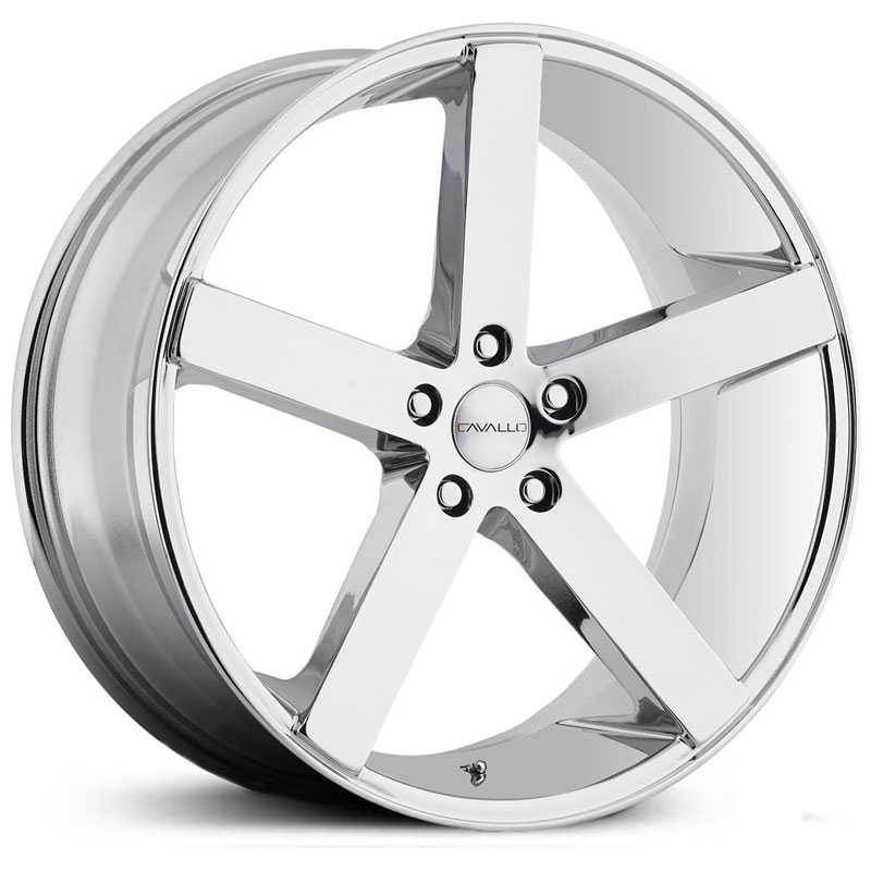 Cavallo CLV-5  Wheels Chrome