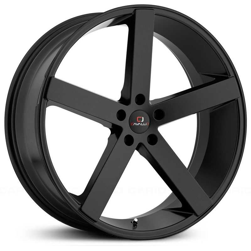 Cavallo CLV-5  Wheels Matte Black