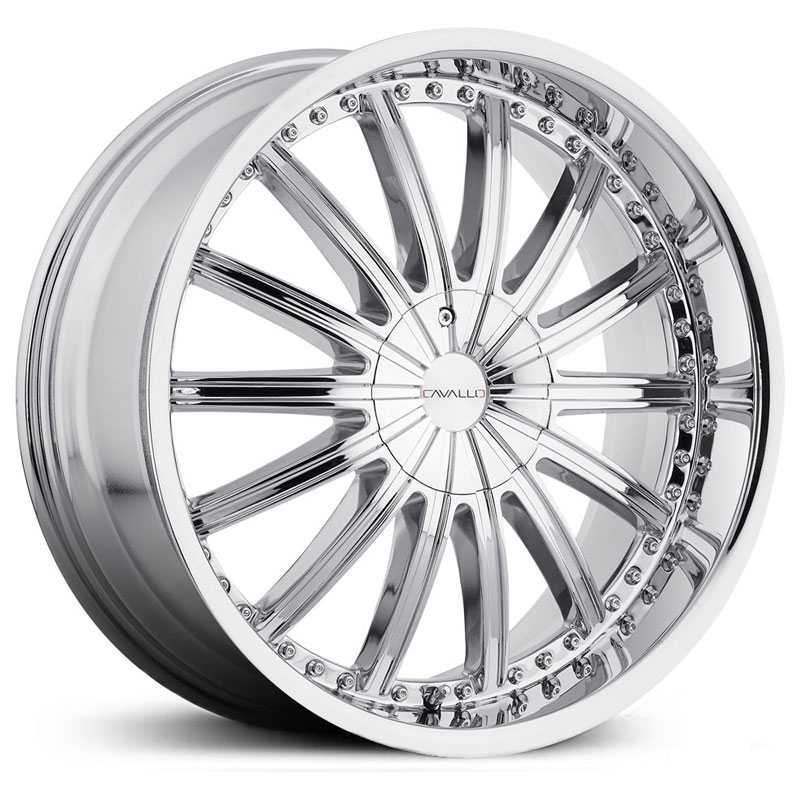 Cavallo CLV-6  Wheels Chrome