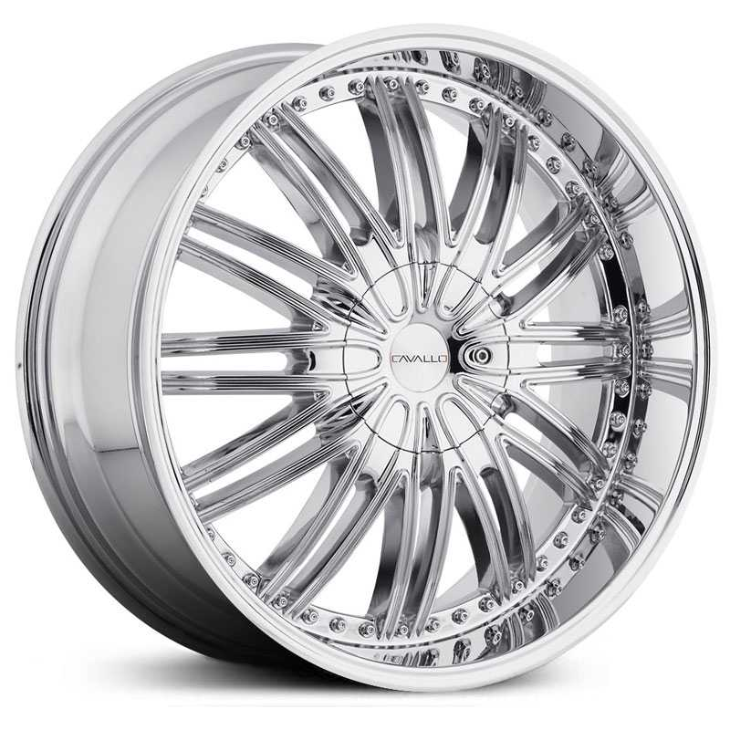 Cavallo CLV-7  Wheels Chrome