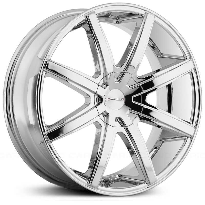 Cavallo CLV-8  Wheels Chrome