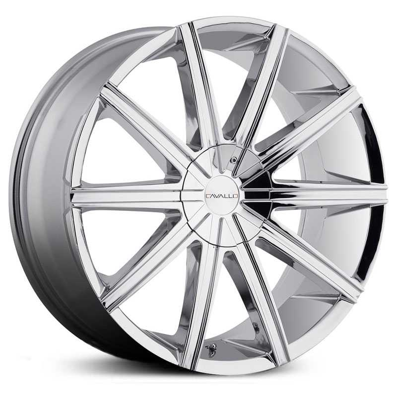 Cavallo CLV-9  Wheels Chrome