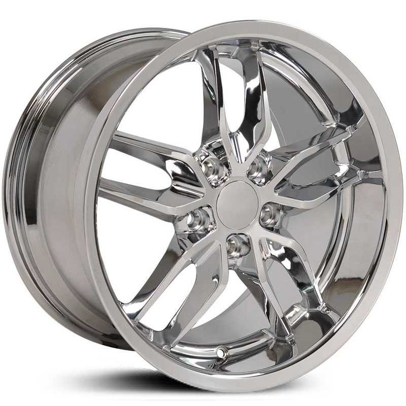 Corvette Stingray (CV18) Deep Dish  Wheels Chrome