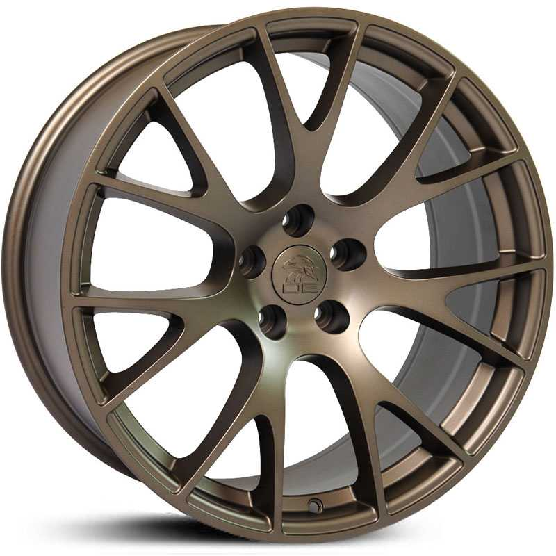 Dodge Hellcat Style (DG15)  Wheels Bronze