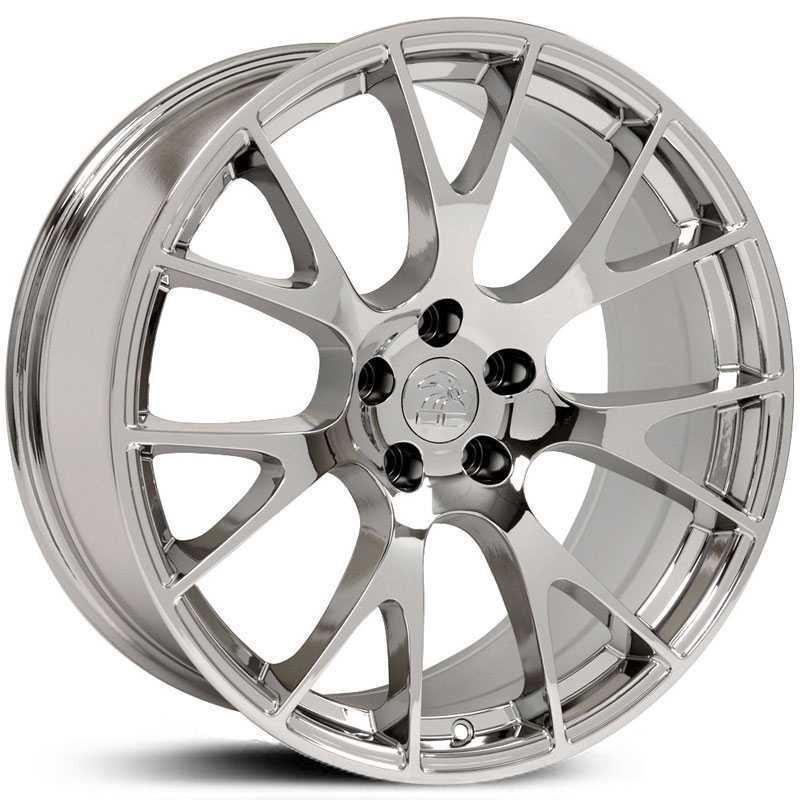 Dodge Hellcat Style (DG15)  Wheels Chrome