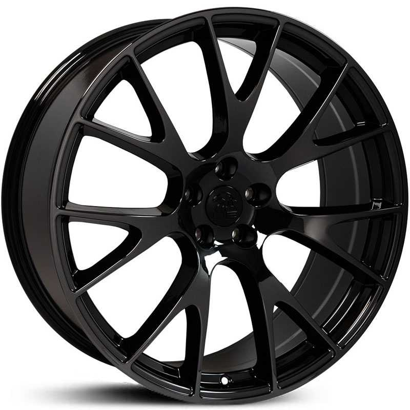 Dodge Hellcat Style (DG15)  Wheels PVD Black Chrome