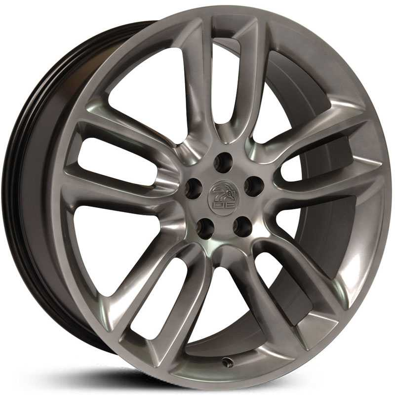 Fits Ford Edge Style (FR80)  Wheels Hyper Black