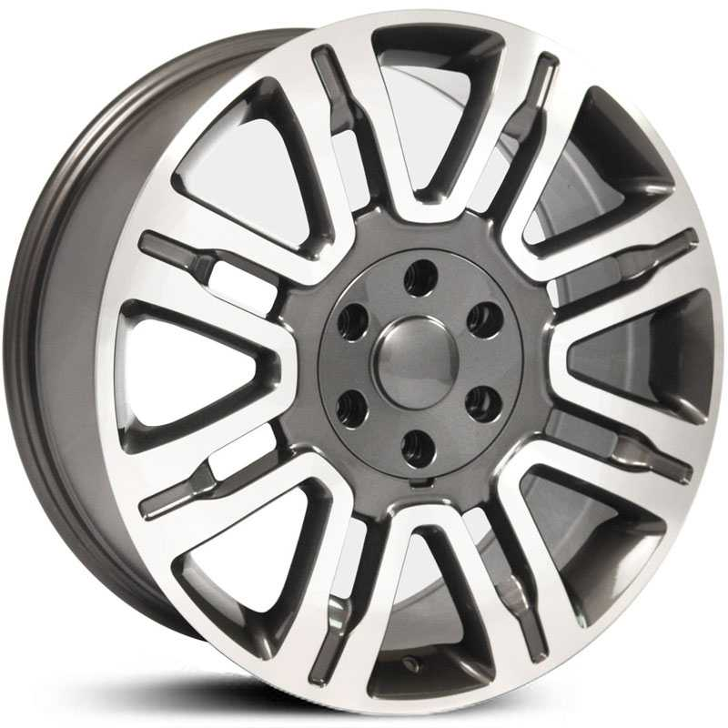 Fits Ford Expedition Style (FR98)  Wheels Gunmetal Machined Face