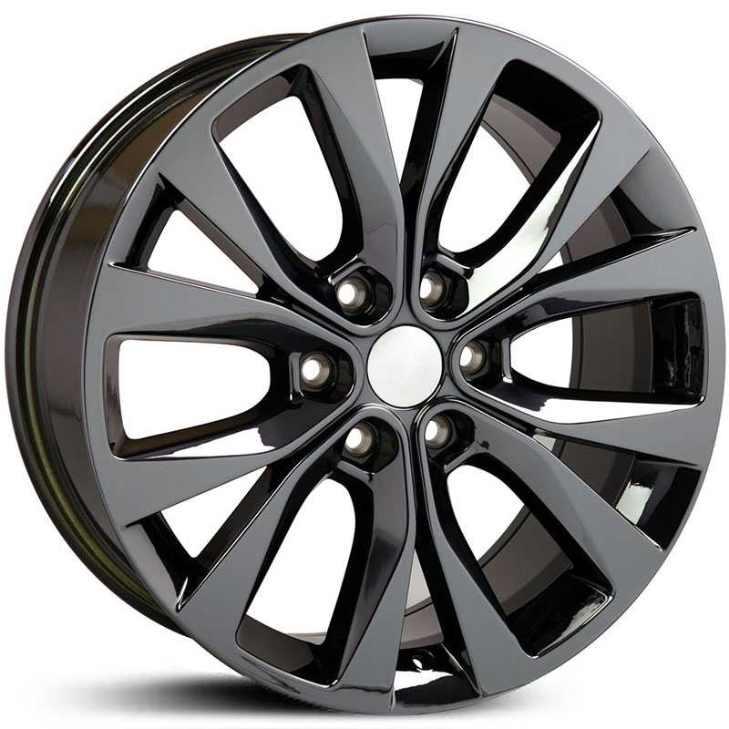 Fits Ford F-150 Style (FR75)  Wheels PVD Black Chrome