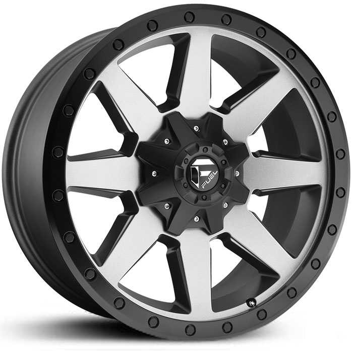 Fuel D599 Wildcat  Wheels Matte Gunmetal